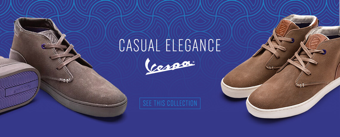 Vespa Shoes 2017