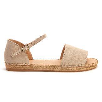 Sandały na platformie Parole S Beige-000-012438-20