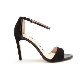 Sandały Delicate Suede Black-000-012155-20