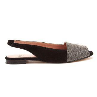 Sandały Nina Nero-000-012460-20