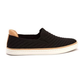 Trampki slip-on Sammy Chevron Black-001-001481-20