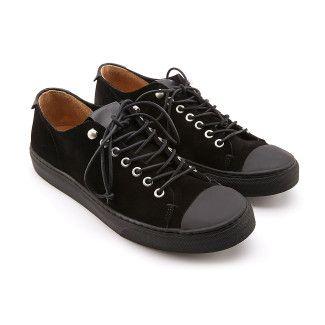 Sneakersy trampki męskie APIA Romariz Black