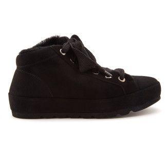 Botki damskie ocieplane sneakersy APIA Spindl 01 Nero