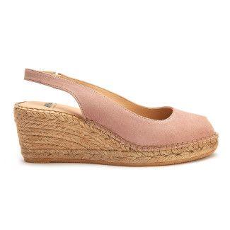 Sandały damskie na koturnie espadryle APIA Enka Sand