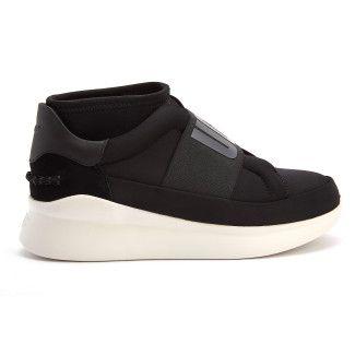 Sneakersy damskie na platformie UGG Neutra Sneaker Black