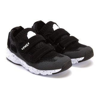Sneakersy dziecięce PRIMIGI 3452133 Nero/Gri