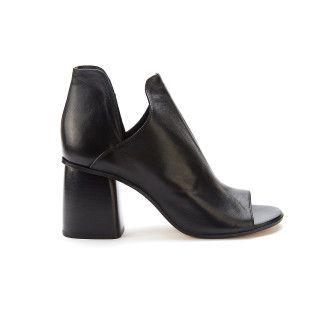 Sandały damskie na obcasie APIA Minoza 83 Nero