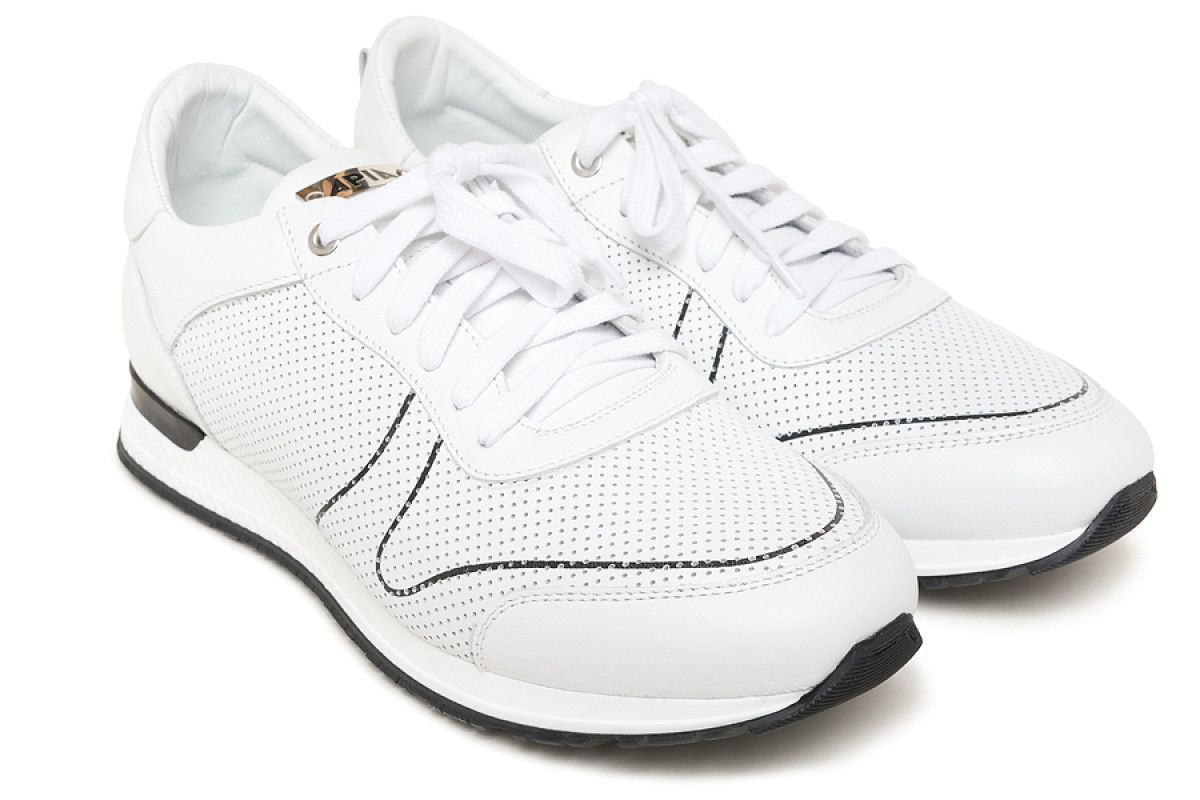 Sneakersy męskie APIA Racy White