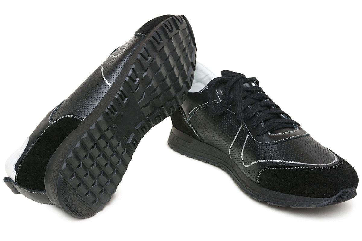 Sneakersy męskie APIA Racy Black