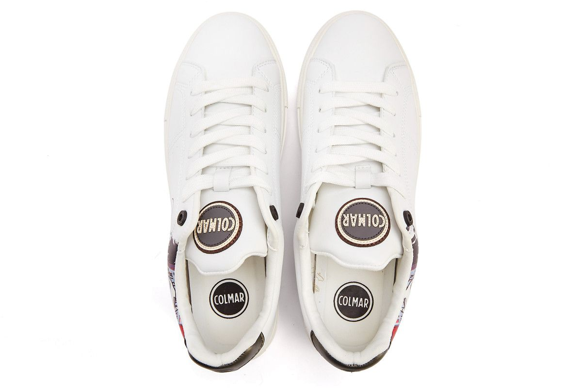 Sneakersy damskie COLMAR Bradbury Bardot 177 Wht