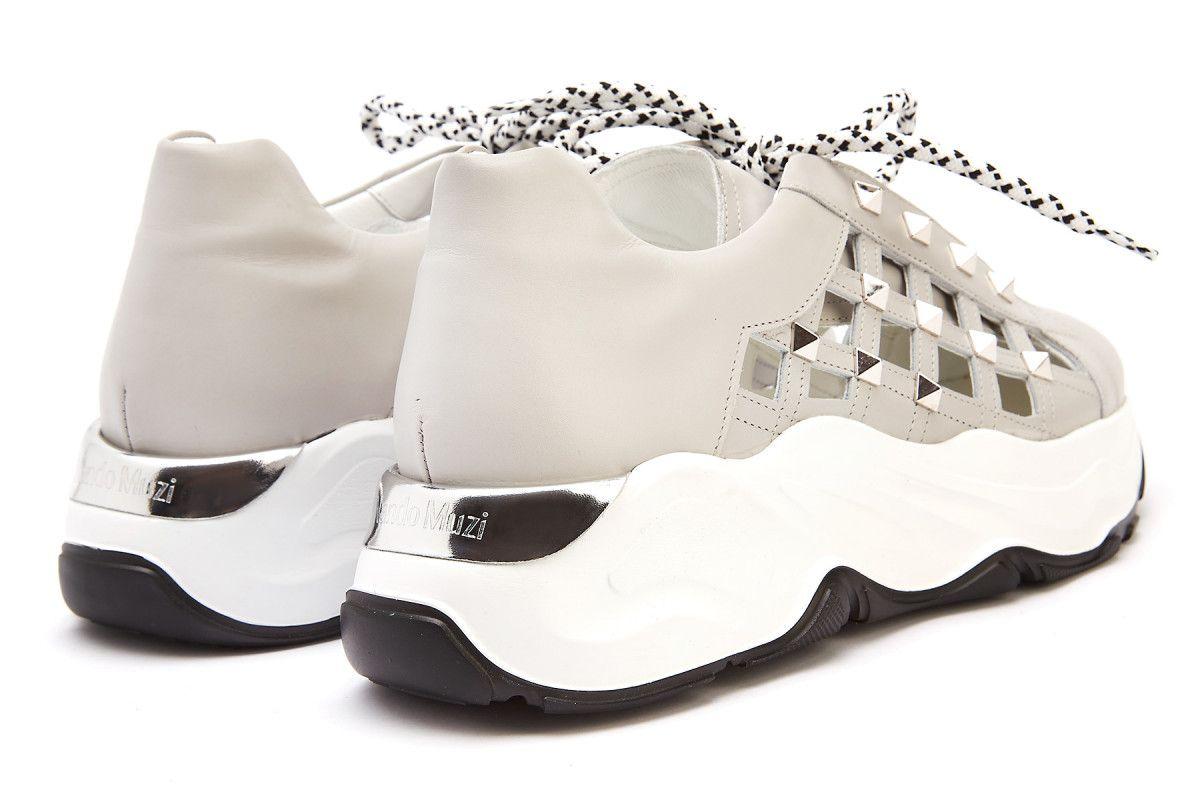 Sneakersy damskie na platformie NANDO MUZI Roundup A287RDP Agr.