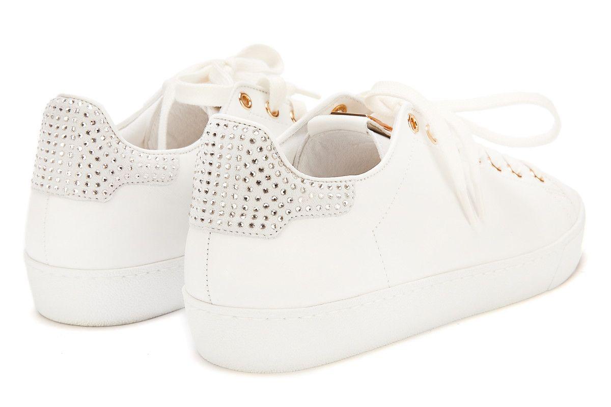 Sneakersy damskie HOGL Glammy 0-180350 Weiss