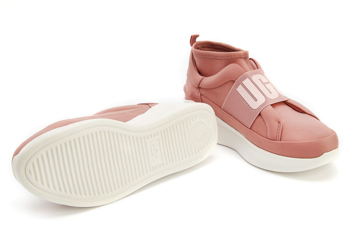 Sneakersy damskie na platformie UGG Neutra Sneaker Pink Dawn