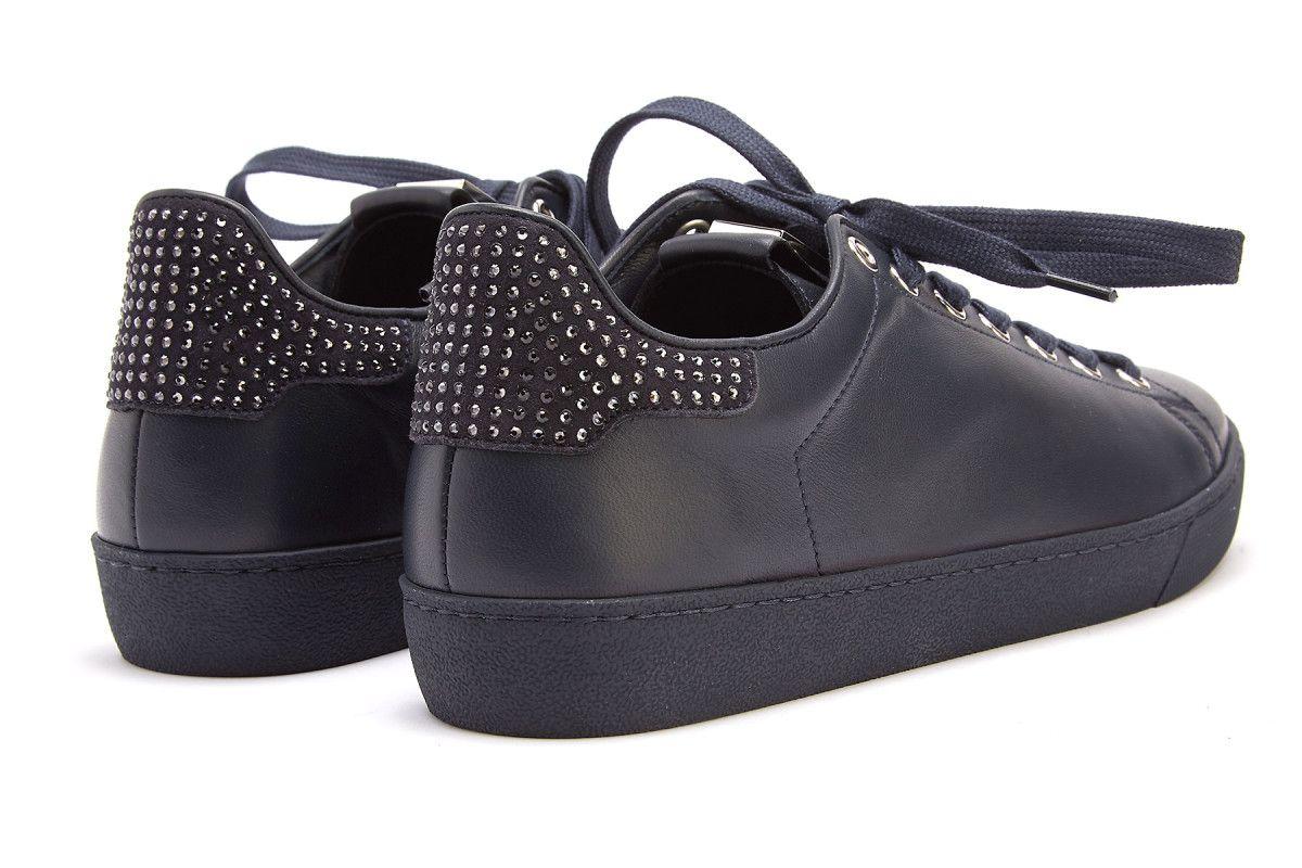 Sneakersy damskie HOGL Glammy 7-100350 Ocean