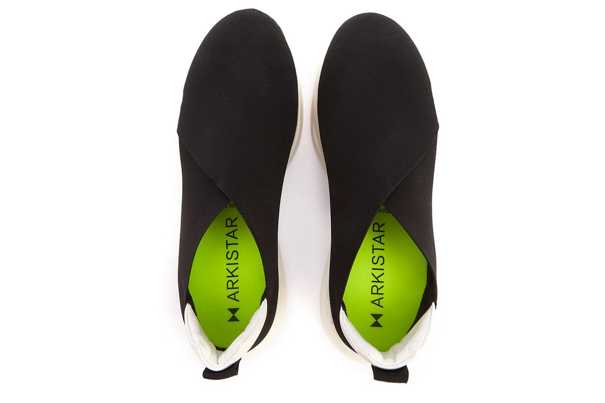 Sneakersy damskie ARKISTAR Kimono KG901/217 Black