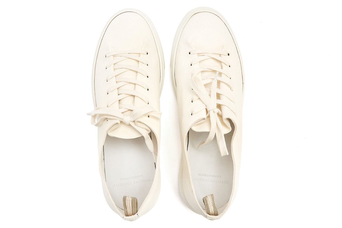 Sneakersy damskie OFFICINE CREATIVE Leggera 100 Bianco