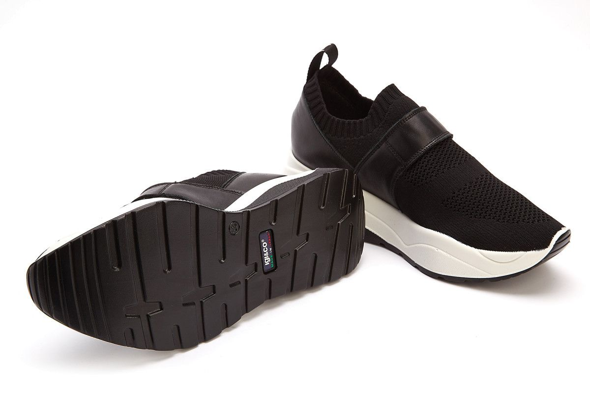 Sneakersy damskie IGI&CO 3162000 Nero