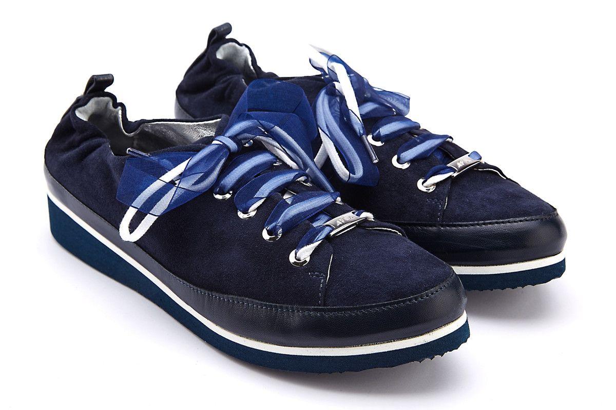 Sneakersy damskie APIA Pulia Nappa Blu