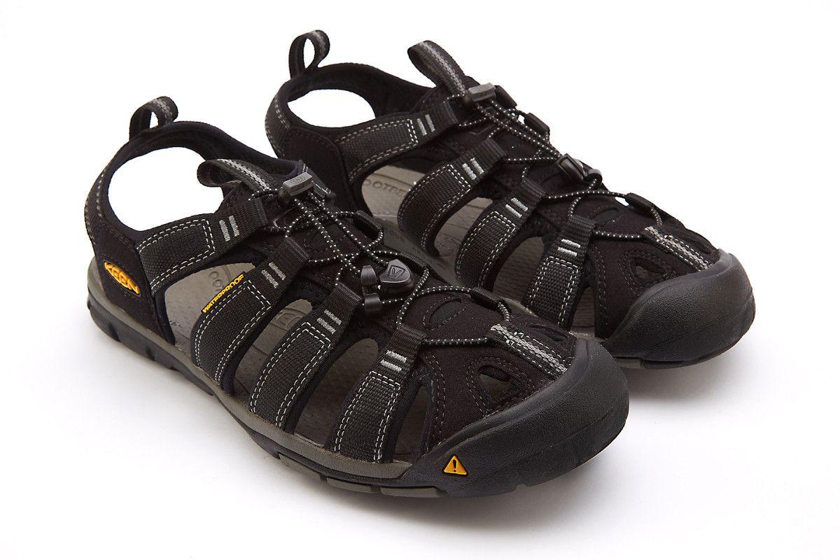 Sandały męskie KEEN Clearwater CNX Black/Gargoyle