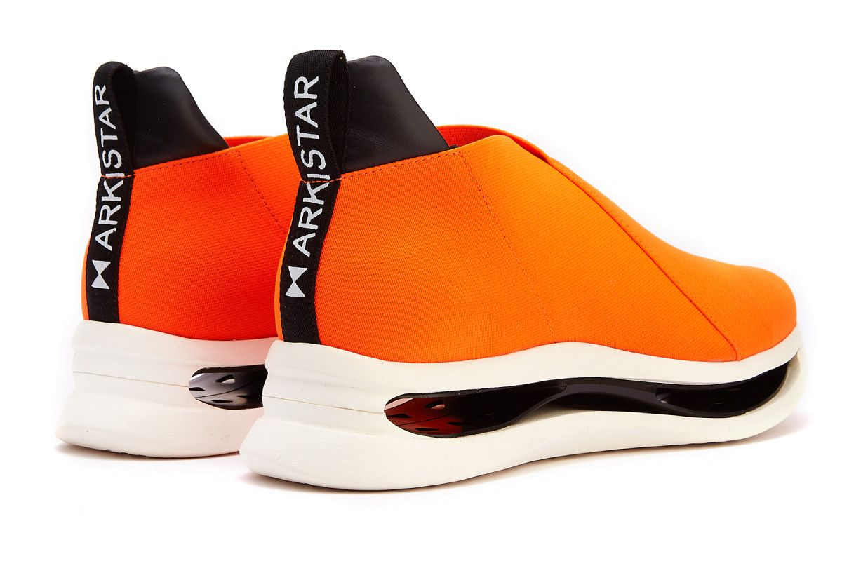 Sneakersy damskie ARKISTAR Kimono KG901/374 Orange