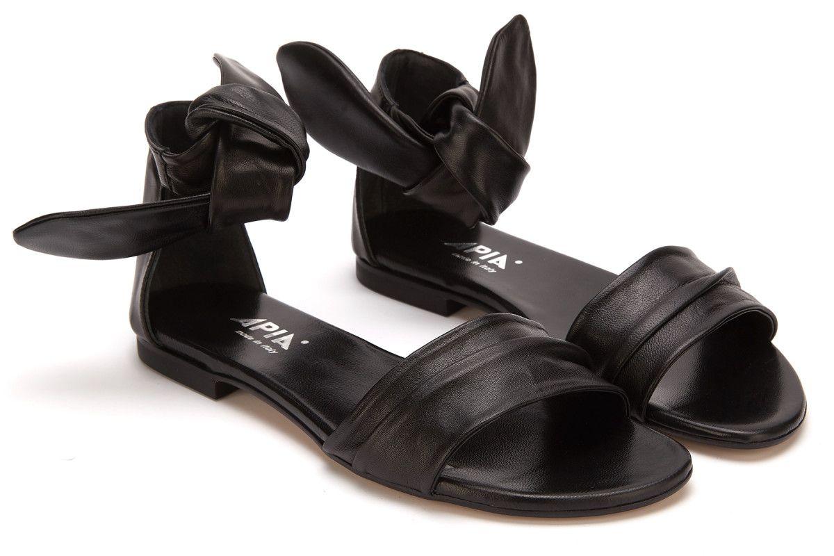 Sandały damskie APIA Reda Nap. Nero
