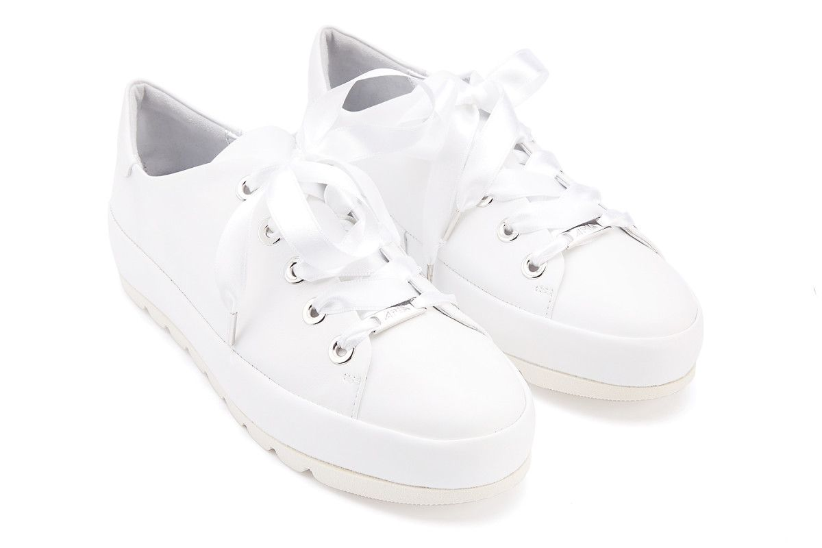 Sneakersy damskie APIA Mari Calf Bianco