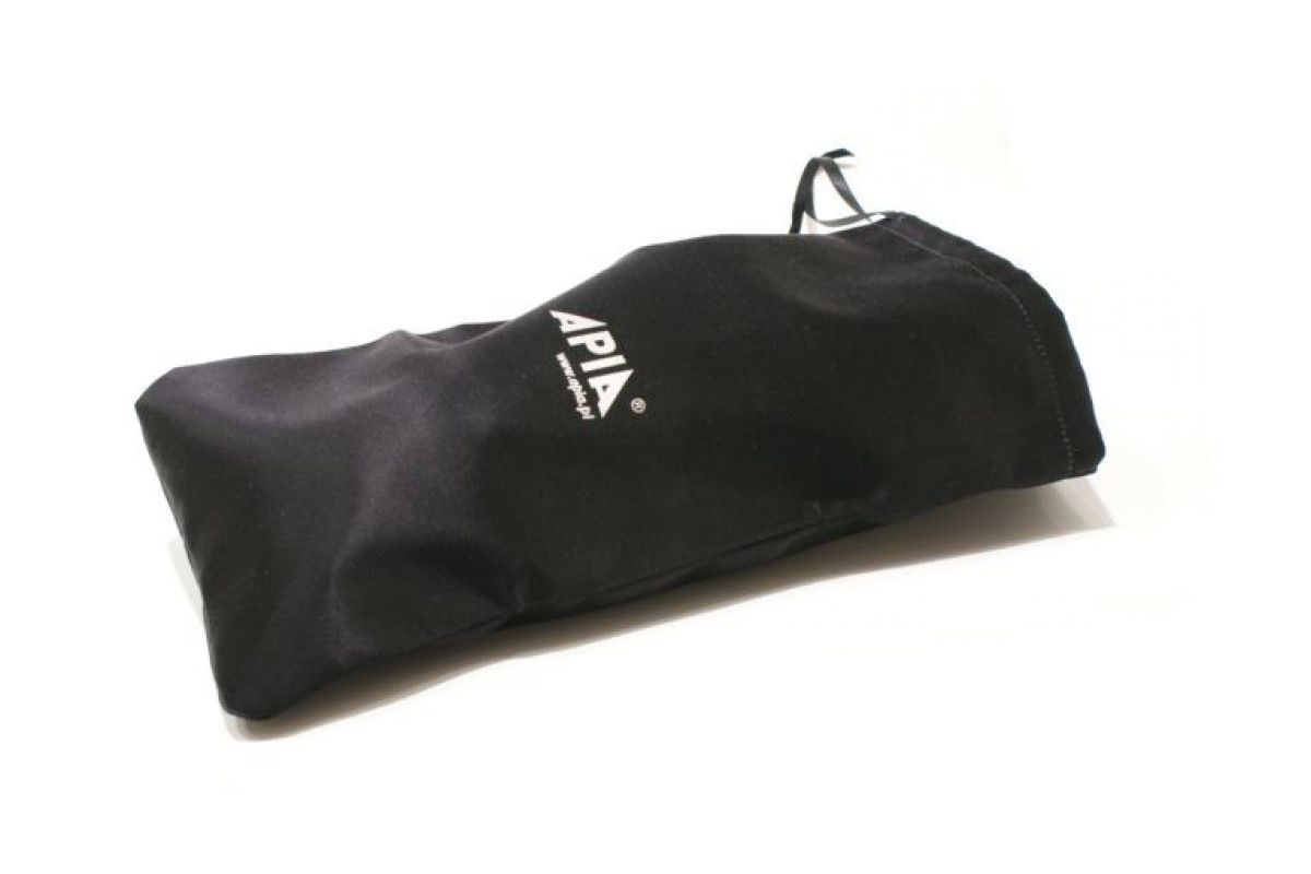 Kapcie damskie APIA 13503 Black Satin