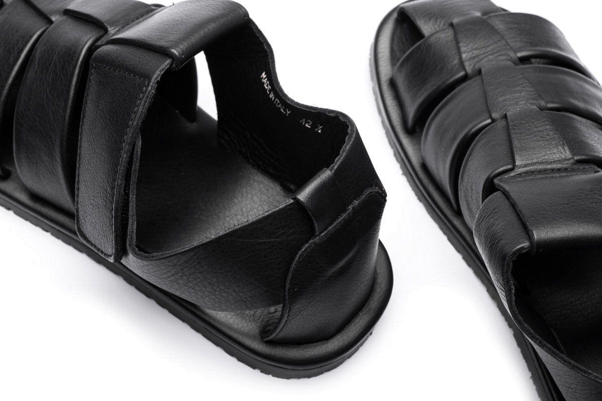 Sandały męskie APIA Marmi Nero