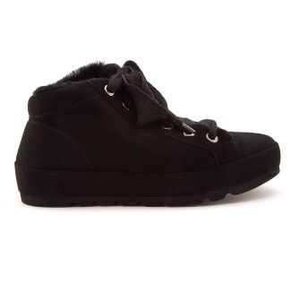 Women's Insulated Platform Sneakers APIA Spindl 01 Nero