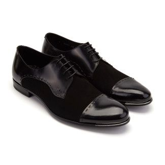 Men's Derby Shoes FABI 8567 Nero