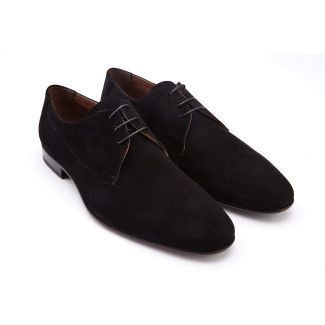Men's Derby Shoes APIA Pescara Kid Nero