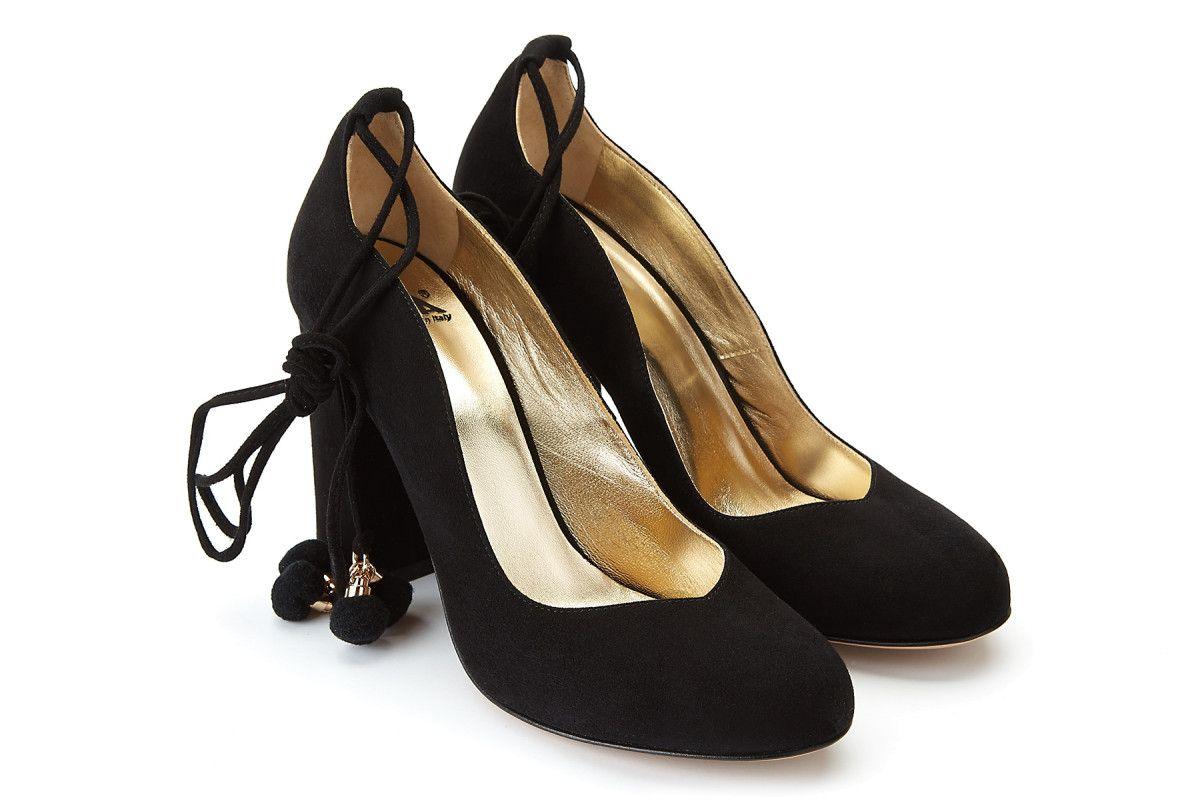6b3af6753 Women's Block Heel Pumps APIA Azia Nero - APIA DK