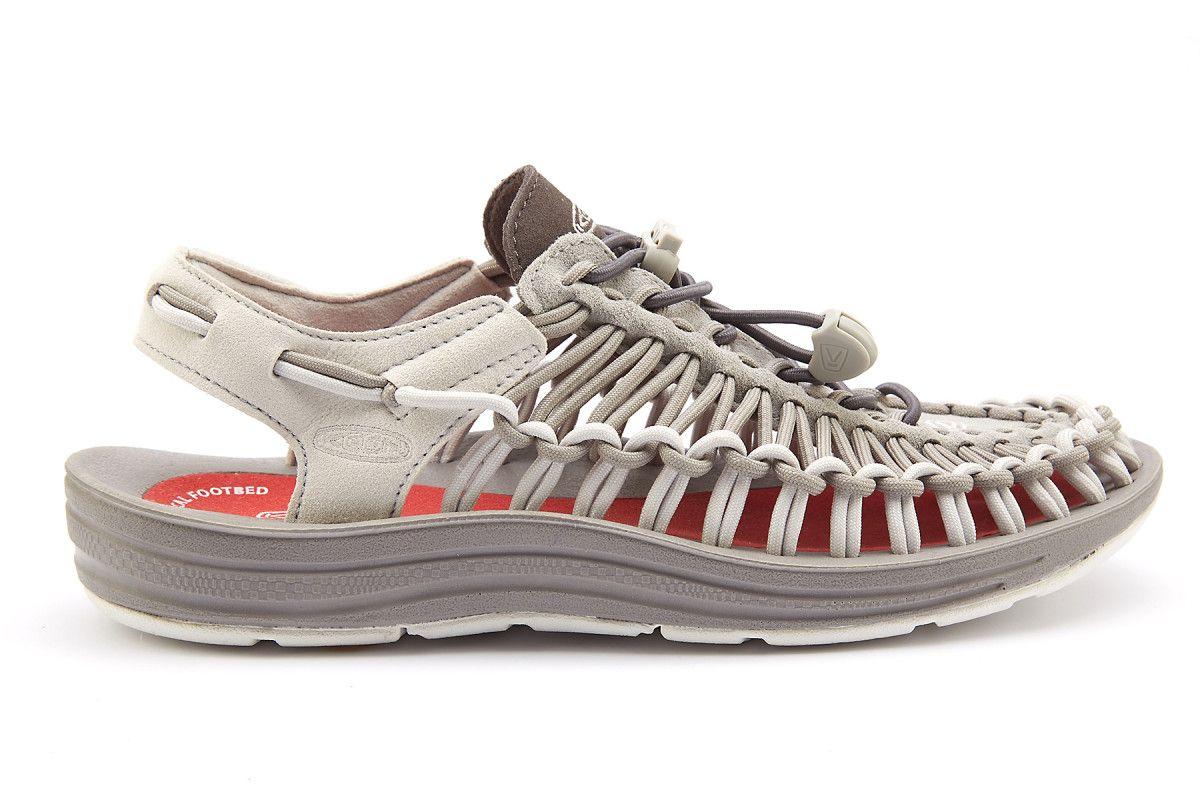 Women's Sport Sandals KEEN Uneek Neutral Grey/Eiffel Tower ...