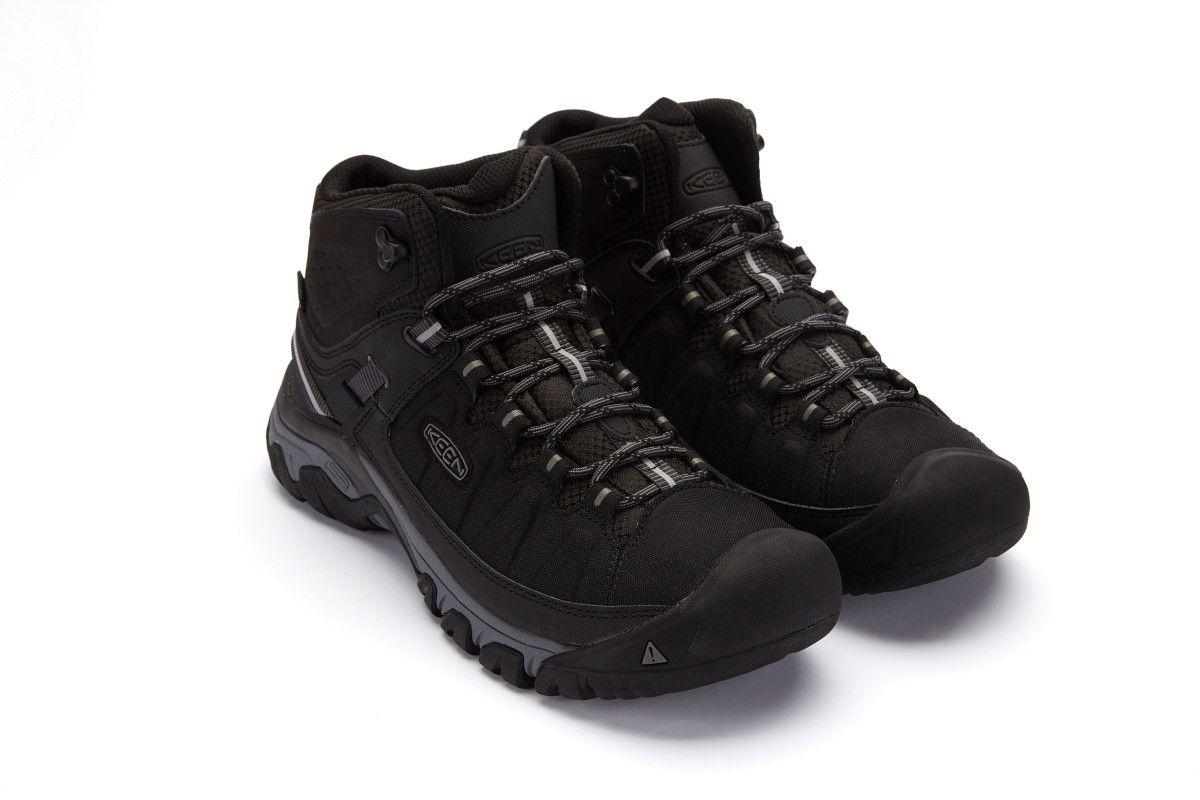 d314df7b3ec Men's Trekking Outdoor Boots KEEN Targhee EXP MID WP Black/Grey