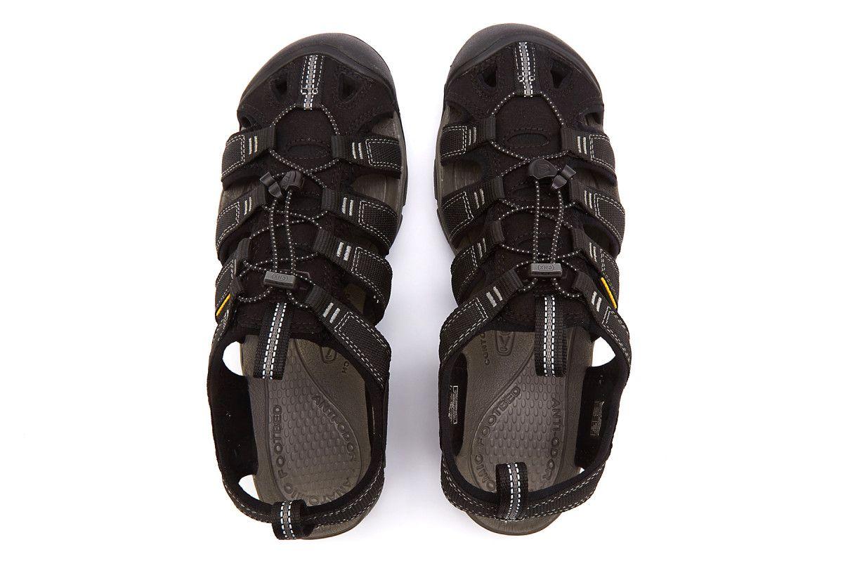Men's Sandals KEEN Clearwater CNX Black/Gargoyle