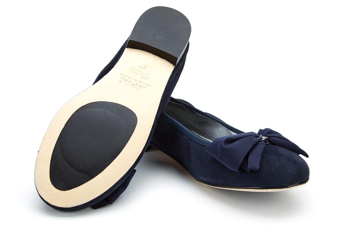 Women's Ballet Pumps APIA Primabalerina Cam. Blu
