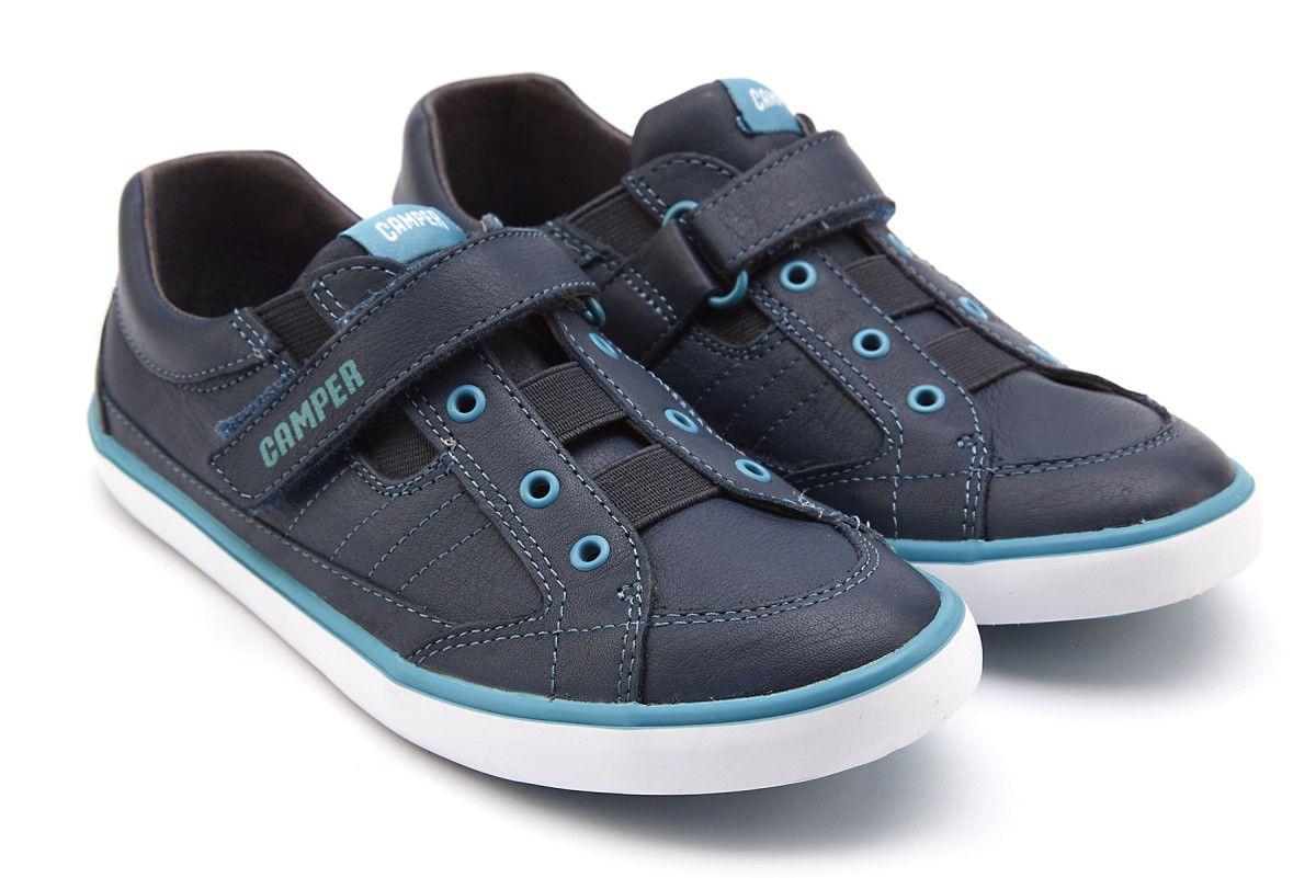 CAMPER Kids Pursuit Sneaker 21 Navy FFnBRdaNz