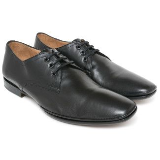 Mens Derby Shoes Apia 30295 Nap. Nero