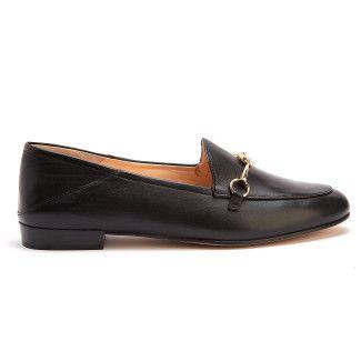 Women's Loafers HOGL Prepstern 7-101630 Black