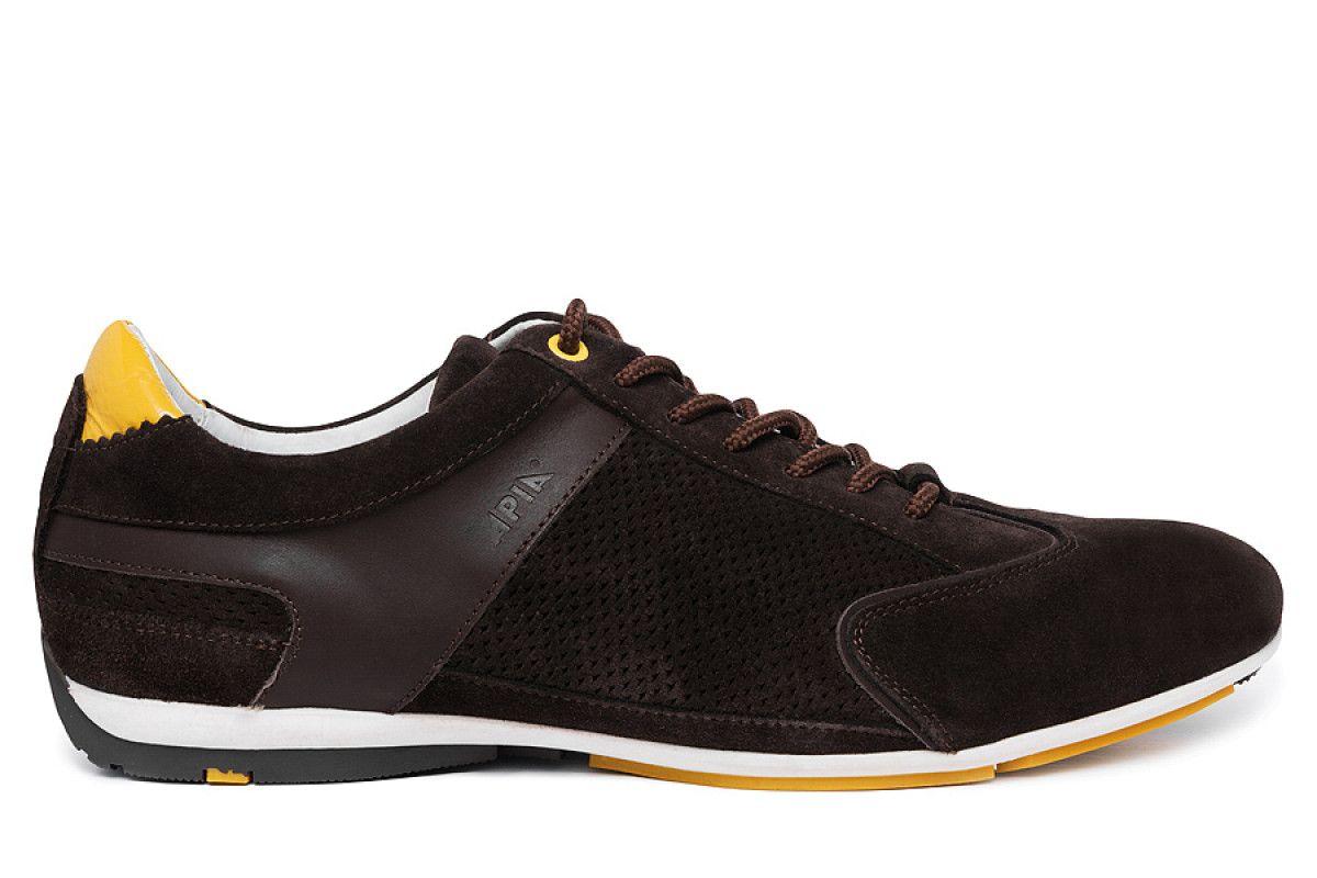 Men's Sneakers Apia 1810 Brown/Yellow