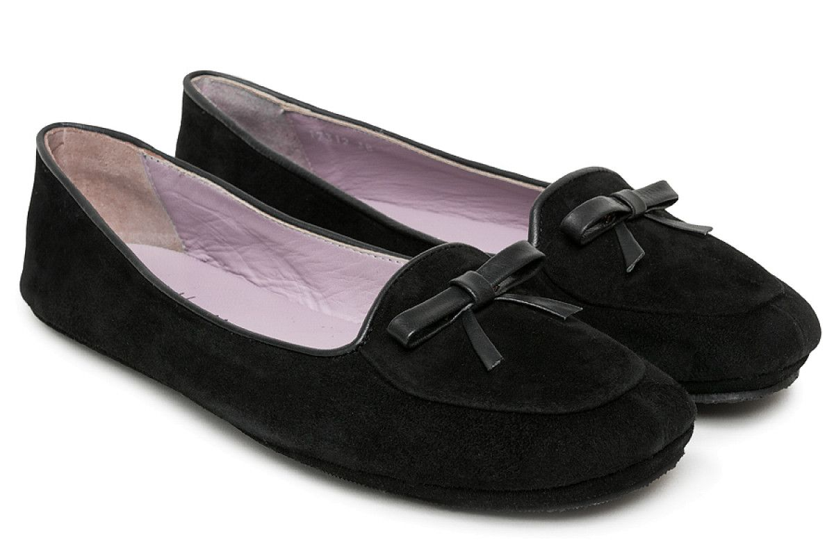 Womens Slippers Apia 17312 Nero