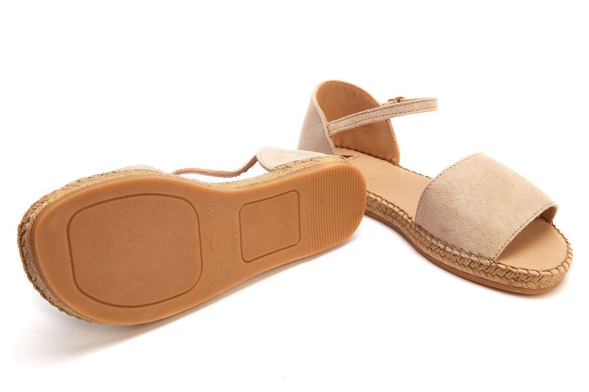 Women's Platform Sandals Espadrile APIA Parole S Beige