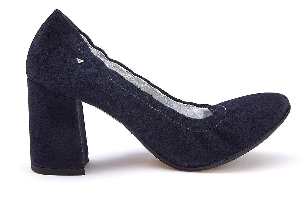 473098db97575 Women's Block Heel Pumps APIA Projekt H Cam. Blu - APIA NL