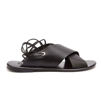 Sandals Attia Vaqueta C Black-000-012159-20