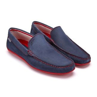 Men's Mocassins APIA Nazare NL 13570 Red