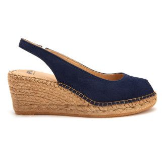Women's Wedge Sandals Espadrile APIA Enka Marino