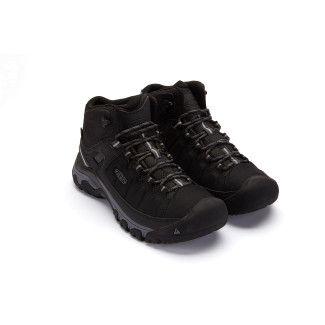 Men's Trekking Outdoor Boots KEEN Targhee EXP MID WP Black/Grey