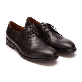 Men's Derby Shoes REDWOOD Taglia 14270 Antos Nero