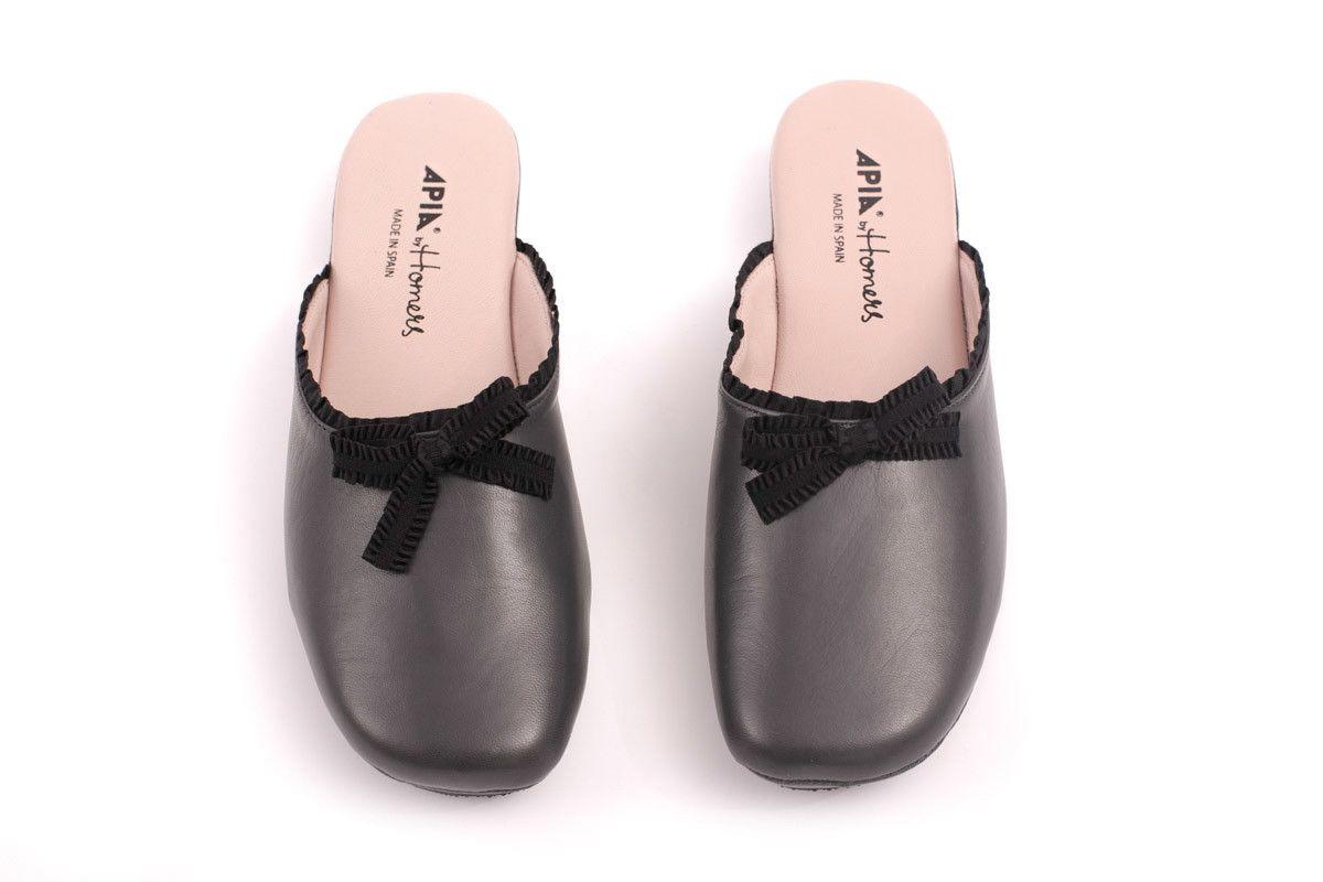 Women's Slippers Apia 15583 Nappa Grey