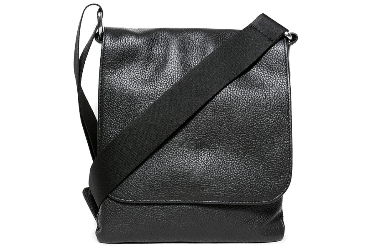 Men's Bag APIA 123 Robertone Nero